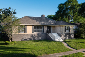 5103 Queensloch, Houston TX - Home Raised by Planet Three Elevation