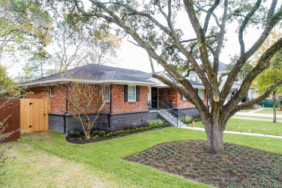5143 Grape, Houston TX - House Lifted by Planet Three Elevation