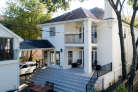 5408 Grand Lake St., Houston TX - House Lifted by Planet Three Elevation