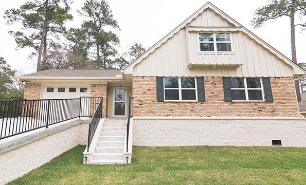 12810 Shadow Lake, Cypress TX – Home Elevated by Planet Three Elevation