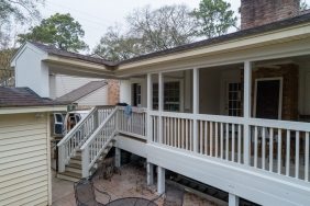 14227 Kellywood Ln., Houston TX - House Lifted by Planet Three Elevation