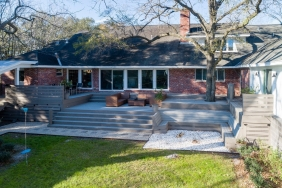 5023 S. Braeswood Blvd., Houston TX - Home Raised by Planet Three Elevation