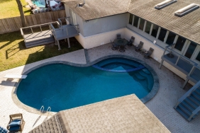 5026 Braesheather Dr., Houston TX - Home Elevated by Planet Three Elevation