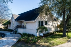 5331 S. Braeswood Blvd., Houston TX - House Elevated by Planet Three Elevation