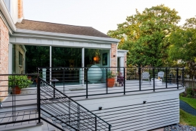 5206 Contour Place, Houston TX - Home Elevated by Planet Three Elevation