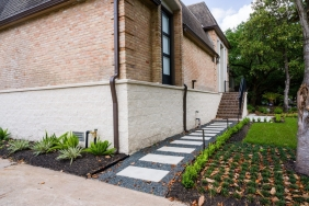 5222 Braesvalley Dr, Houston TX - House Lifted by Planet Three Elevation