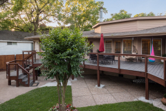 5019 South Braeswood, P3 Elevation, Low Lift, Back Deck 2