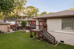 5019 South Braeswood, P3 Elevation, Low Lift, Back Deck 5