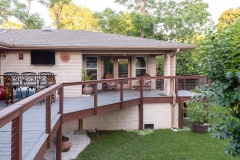 5019 South Braeswood, P3 Elevation, Low Lift, Back Deck 3