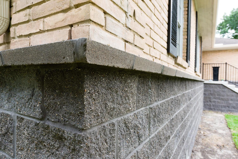 5103 Queensloch, Low Lift, P3 Elevation, split faced block