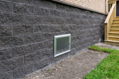 5103 Queensloch, Low Lift, P3 Elevation, Stainless Crawl Space Access Door 2