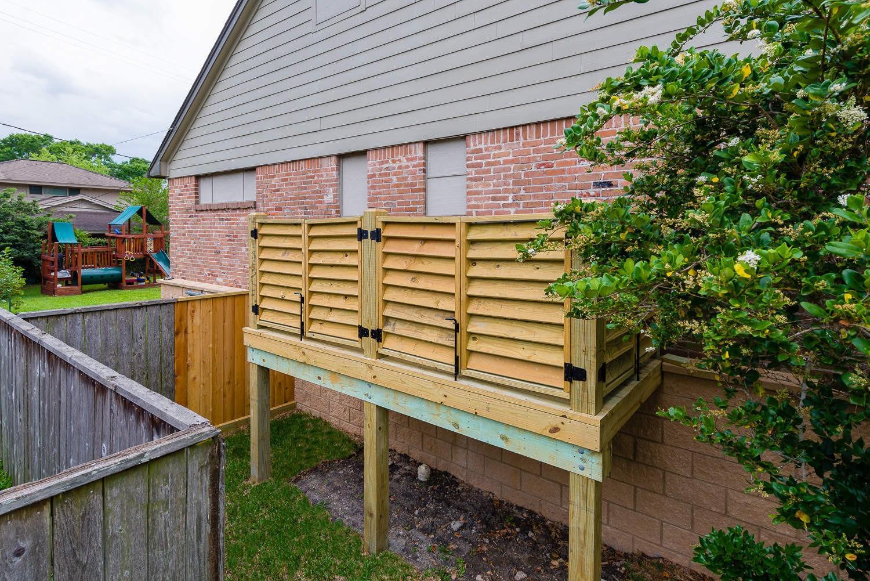 5207 Contour Place, P3 Elevation, Low Lift, AC Unit Housing