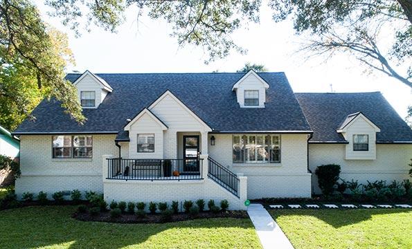 5207 Rutherglenn, Houston TX – House Raised by Planet Three Elevation