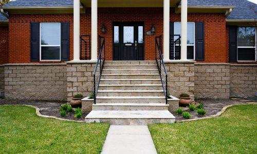 5155 Braesvalley, Houston TX - House Elevation by Planet Three Elevation