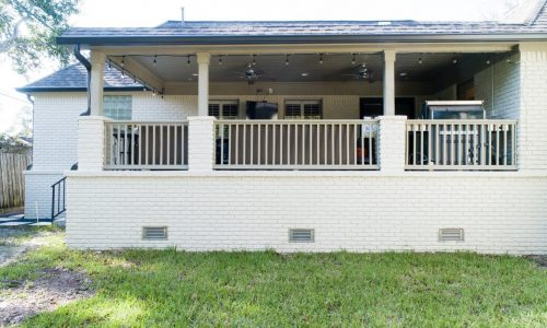 5207 Rutherglenn, Houston TX - House Raised by Planet Three Elevation