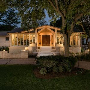 Large Square Foot Home Elevation Houston