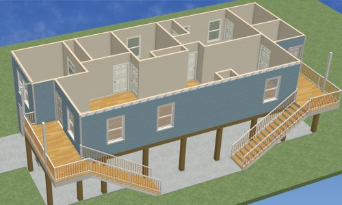 Reconstructed Flood Home Design Overview