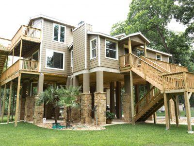 High Lift Home Elevation Houston