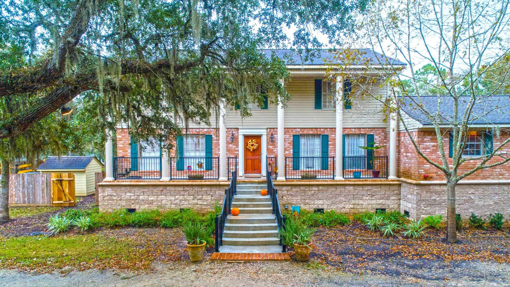 Brazoria County Lake Jackson Home Elevation