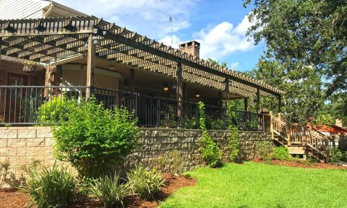 272 Fawn Trail Pergola After Elevation