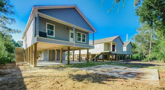 FEMA grant flood mitigation reconstruction homes Brazoria County