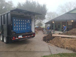 Brazoria County Foundation House Lifting Elevation