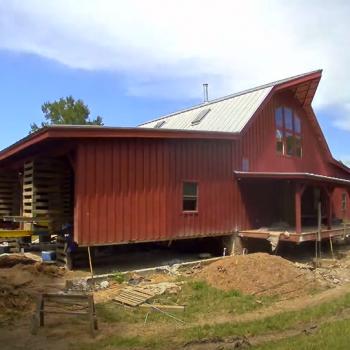 Historical Barn Lifted
