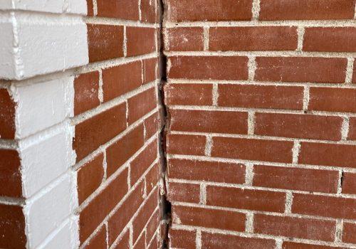 Unlevel Foundation Exterior Damage