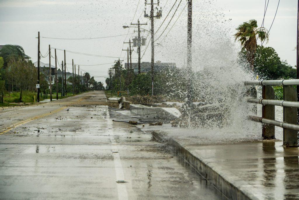 Galveston Flooding Hurricane Harvey