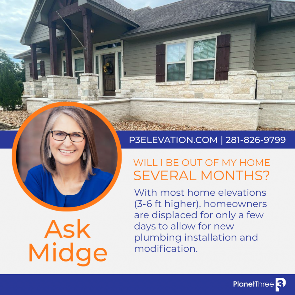 Ask Midge Will I be out of my home several months
