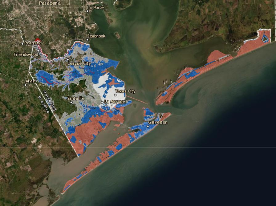 galveston county floodmap